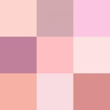 Sognare il colore rosa