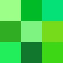 Sognare il colore verde