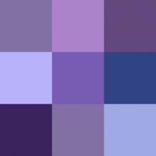 Sognare il colore viola