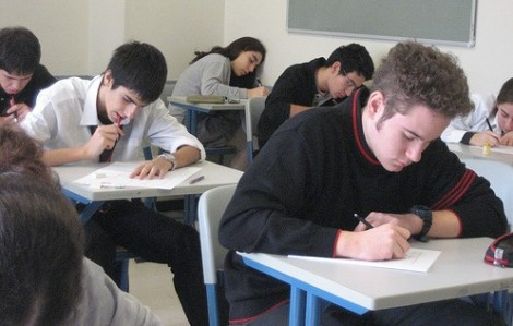 sognare esame, compito in classe