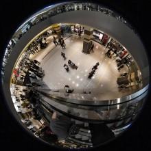 sognare centro commerciale