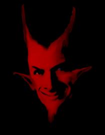 demonio, diavolo rosso
