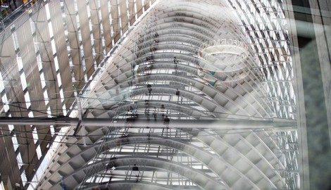 Sognare casa di vetro, trasparente