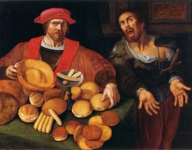 dare pane, distribuire pane