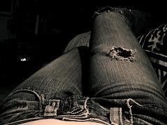 jeans bucati