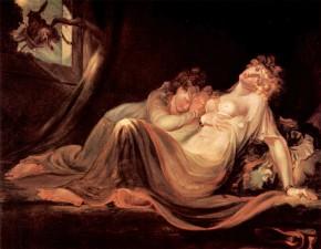 Füssli: Incubo se ne va e lascia due donne in pace; si sono svegliate dalla paralisi nel sonno