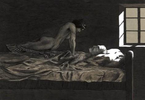 paralisi nel sonno e allucinazioni ipnagogiche: l'incubo che ti schiaccia