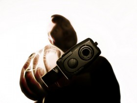 ladro con pistola