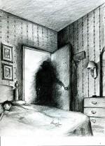 paralisi nel sonno e allucinazioni: l'uomo ombra