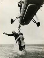 essere salvati da un elicottero