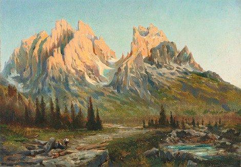 Sognare una montagna, i monti
