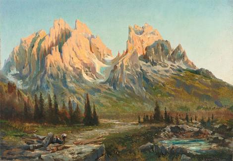la montagna nei sogni