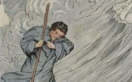 raffica di vento, folata, vento in faccia