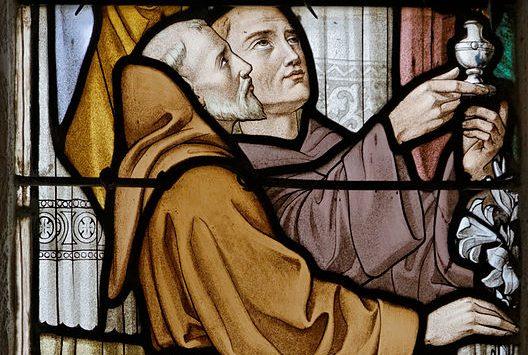 sognare un prete, un frate, un monaco
