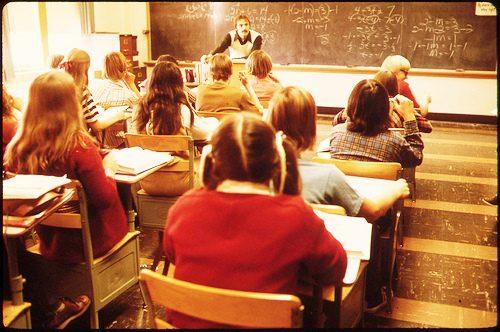 Sognare la scuola