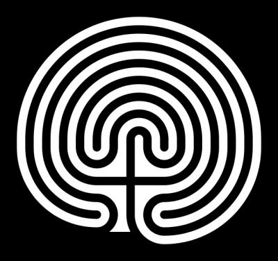 labirinto unicursale cretese