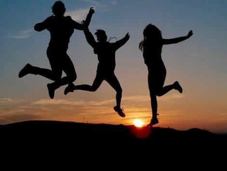 sognare di saltare, di fare un bel salto